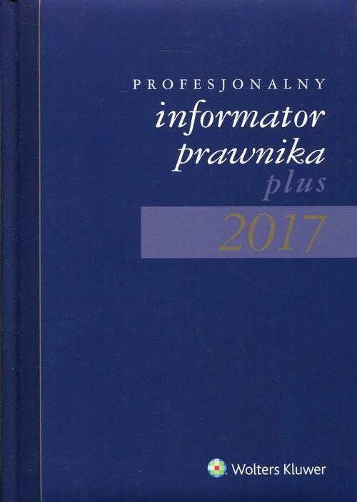 Profesjonalny Informator Prawnika Plus 2017 B5 granatowy - brak