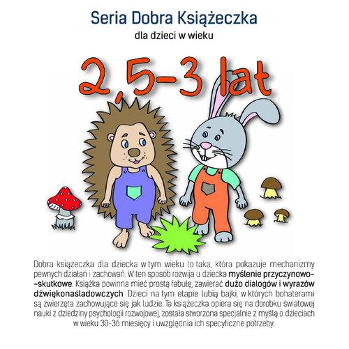 Seria Dobra Książeczka 2,5-3 lat - Starok Agnieszka
