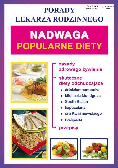 Nadwaga Popularne diety - brak