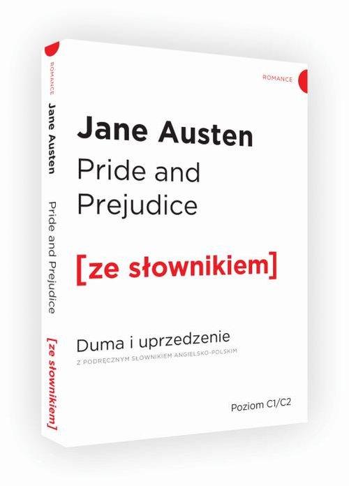 Pride and Prejudice Duma i uprzedzenie z podręcznym słownikiem angielsko-polskim - Austen Jane