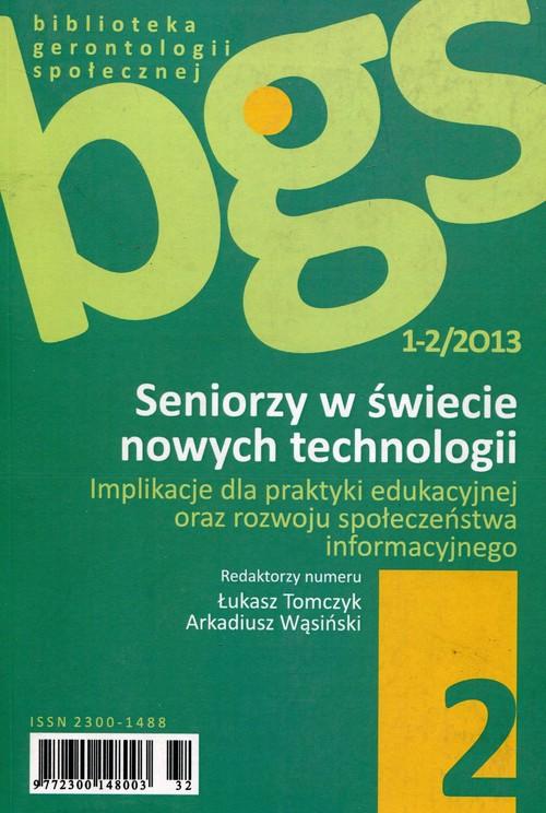 Seniorzy w świecie nowych technologii 1-2/2013 - brak