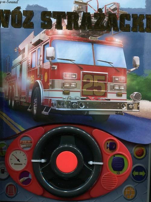 Wóz strażacki + kierownica książeczka dźwiękowa - Keast Jennifer H.