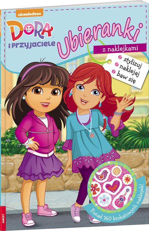 Dora i przyjaciele Ubieranki z naklejkami - opracowanie zbiorowe
