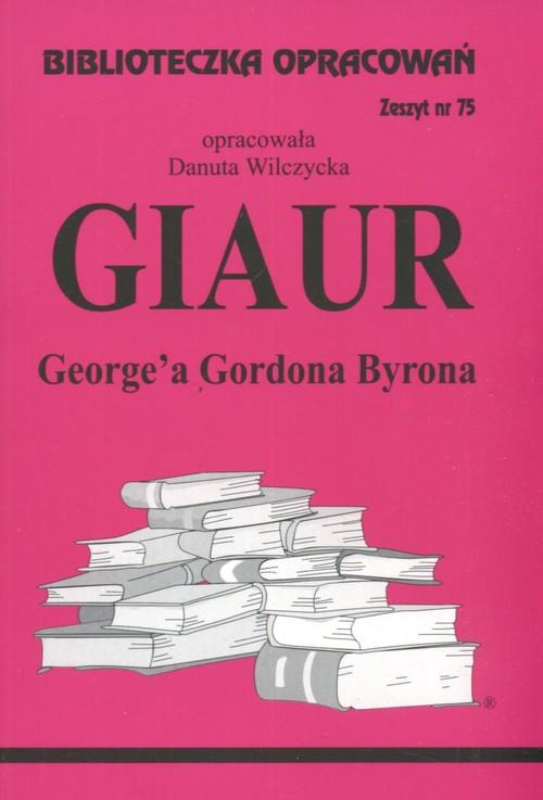 Biblioteczka Opracowań Giaur George'a Gordona Byrona