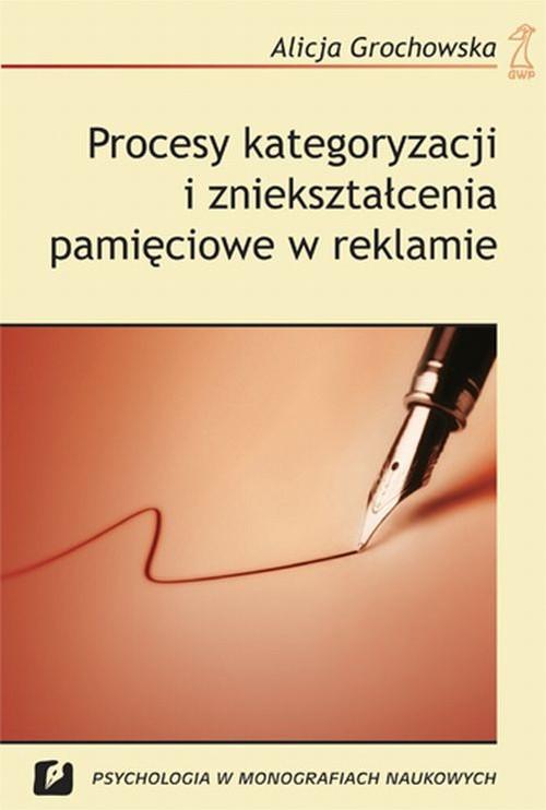 Procesy kategoryzacji i zniekształcenia pamięciowe w reklamie - Grochowska Alicja