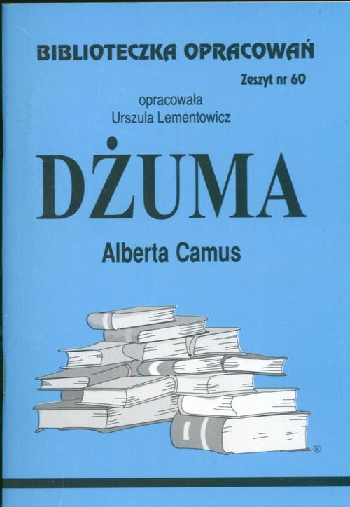 Biblioteczka Opracowań Dżuma Alberta Camusa
