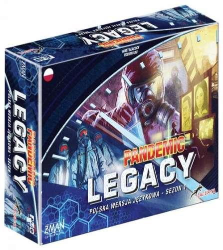 Pandemic Legacy Pandemia - Edycja niebieska