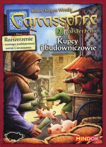 Carcassonne Rozszerzenie 2 Kupcy i budowniczowie