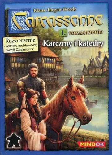 Carcassonne Rozszerzenie 1 Karczmy i katedry