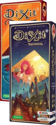 [Zestaw] 2 x Dodatek do Dixit Przygody + Wspomnienia
