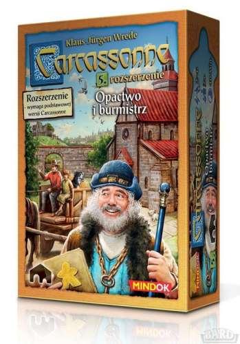 Carcassonne 5 rozszerzenie Opactwo i burmistrz