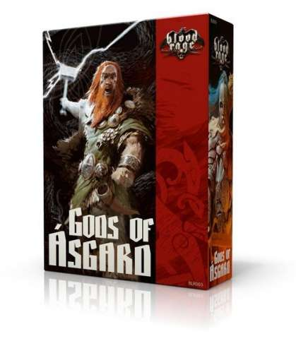 Blood Rage Bogowie Asgardu