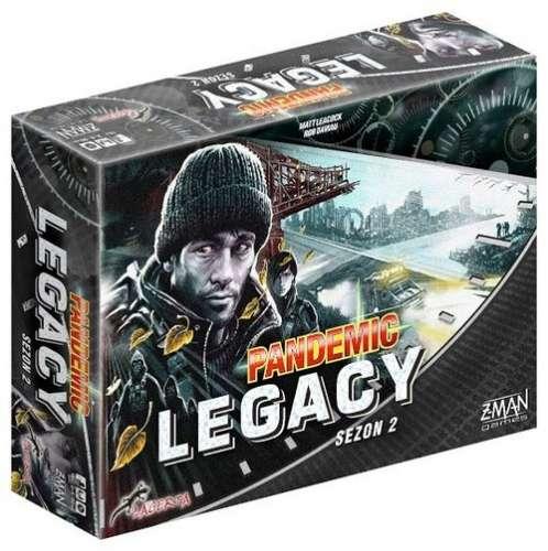 Pandemic Legacy Sezon 2 edycja czarna