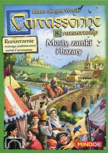 Carcassonne Mosty zamki i bazary