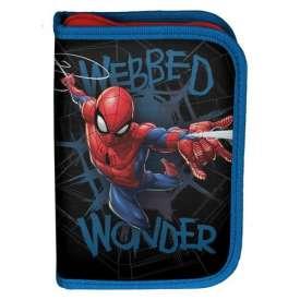 Piórnik jednokomorowy z wyposażeniem Spider-Man