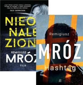 [Zestaw] 2x Mróz Remigiusz - Nieodnaleziona + Hashtag