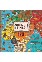 Zwierzęta na mapie Puzzle 170