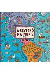 Wszystko na mapie Puzzle 600