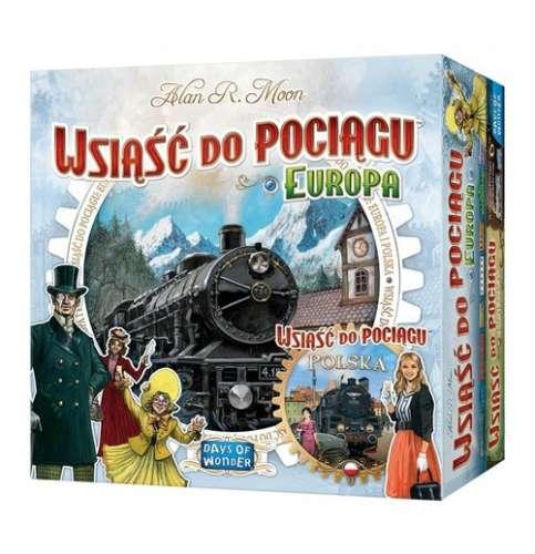 Wsiąść do pociągu Polska + Europa