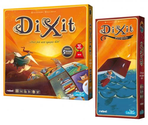 [Zestaw] Dixit + Dixit 2: Przygody