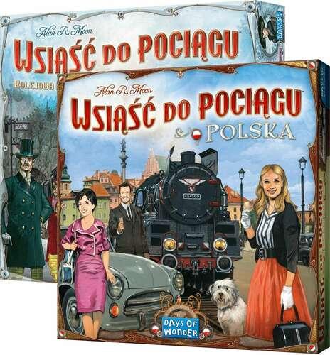 [Zestaw] Wsiąść do Pociągu: Europa + Kolekcja Map 6.5 - Polska