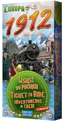 Gra Wsiąść do Pociągu Europa 1912 dodatek