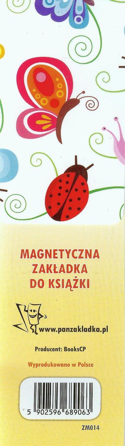f017ca7c0b255e Magnetyczna zakładka do książki Motyle | Sklep Selkar.pl