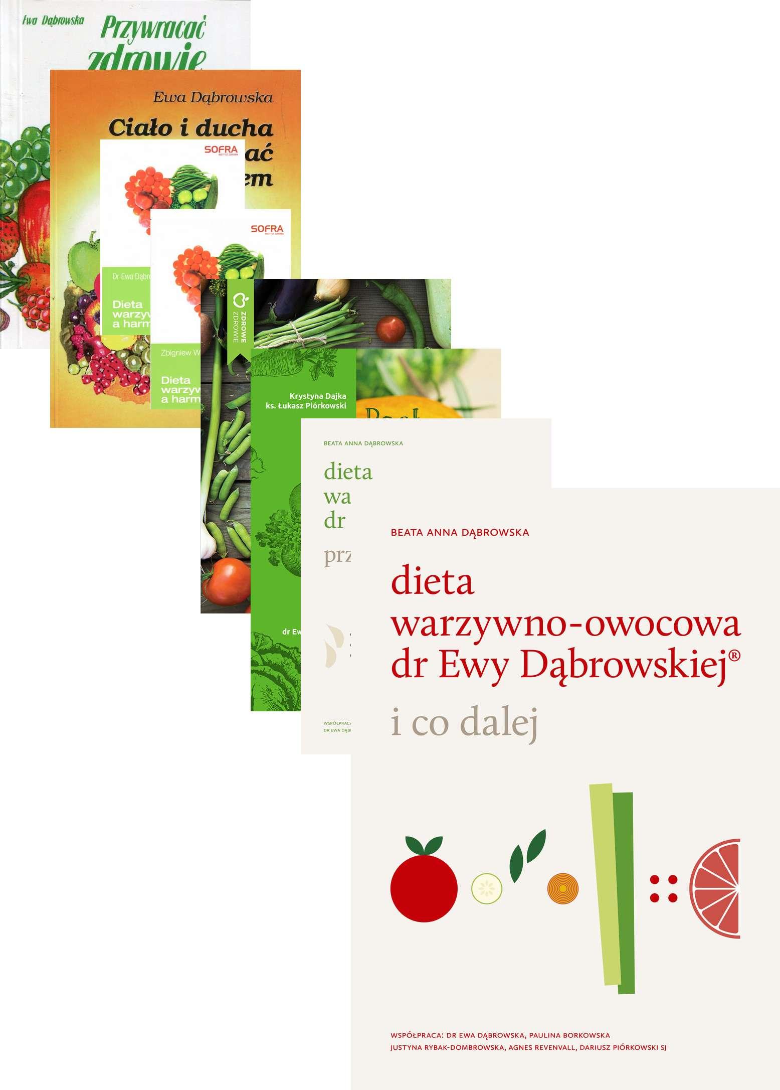 Zestaw 8x Dieta Warzywno Owocowa Dr Ewy Dabrowskiej A Harmonia