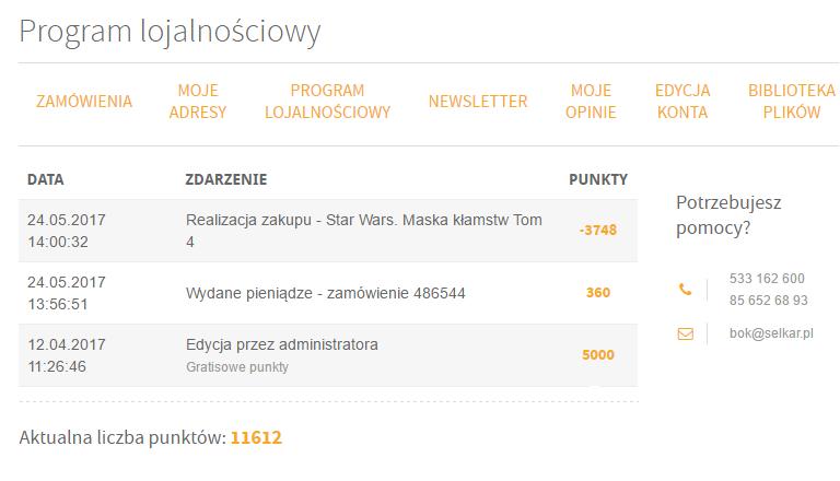 f51c1ea69fe030 Nasze FAQ - selkar.pl - Książki i Multimedia